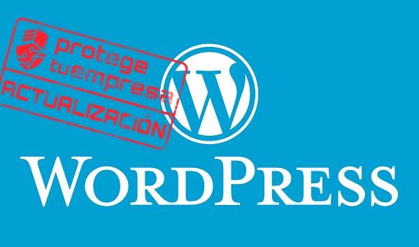 Actualización WordPress