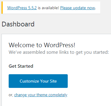 Actualizar WordPress 5.4.2