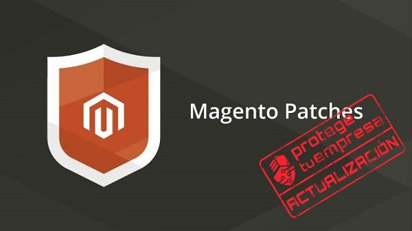 Aviso de Actualización del software Magento por parte de Protege tu Empresa