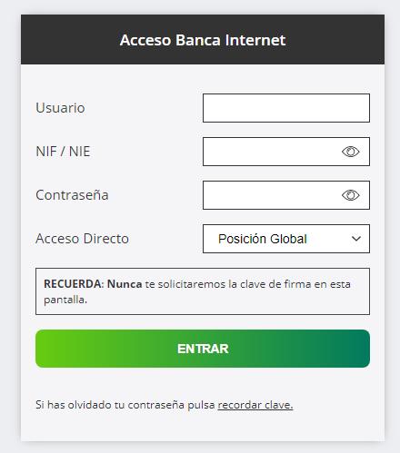Aviso de seguridad 04/09/2020 - Campaña de phishing contra Ruralvia - inicio de sesión