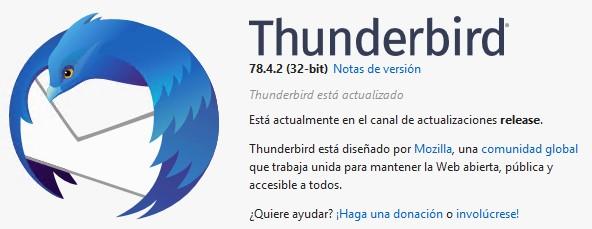 Thunderbird 78.4.2