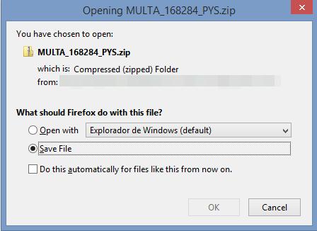 Captura descarga archivo comprimido con malware