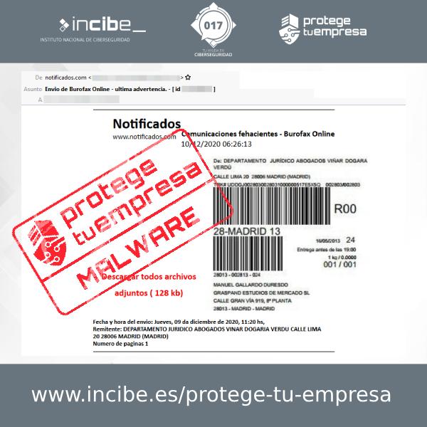 Correo electrónico - Aviso 10/12/2020 Burofax