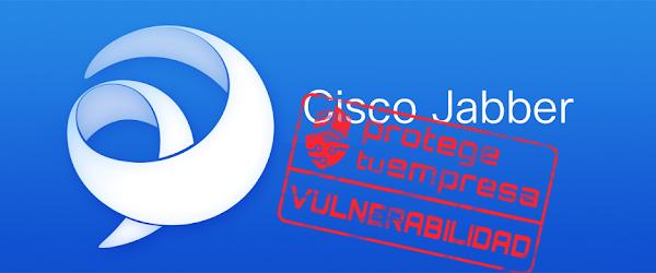Cisco Jabber vulnerabilidad