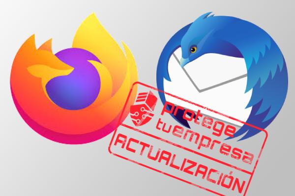 Logos Firefox y Thunderbird