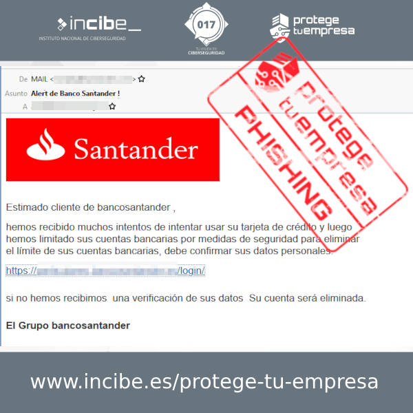 Captura del phishing