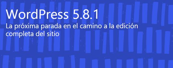 Wordpress actualizado