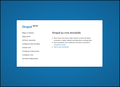 Drupal 8.6.13