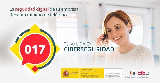 Línea de ayuda en ciberseguridad 017