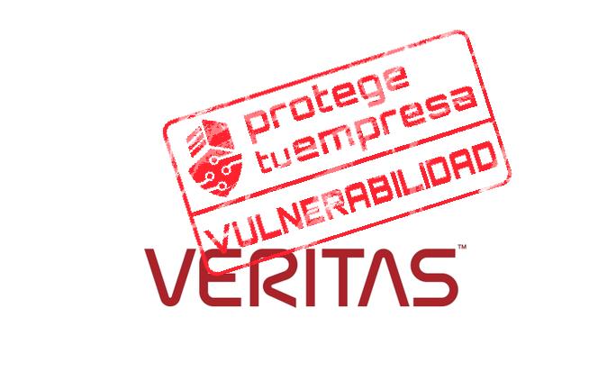 Aviso de seguridad 28/12/2020 - 1Detectadas múltiples vulnerabilidades críticas en diversos productos de Veritas. ¡Actualiza urgentemente!