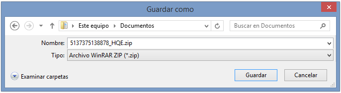 Descarga malware - Aviso Burofax