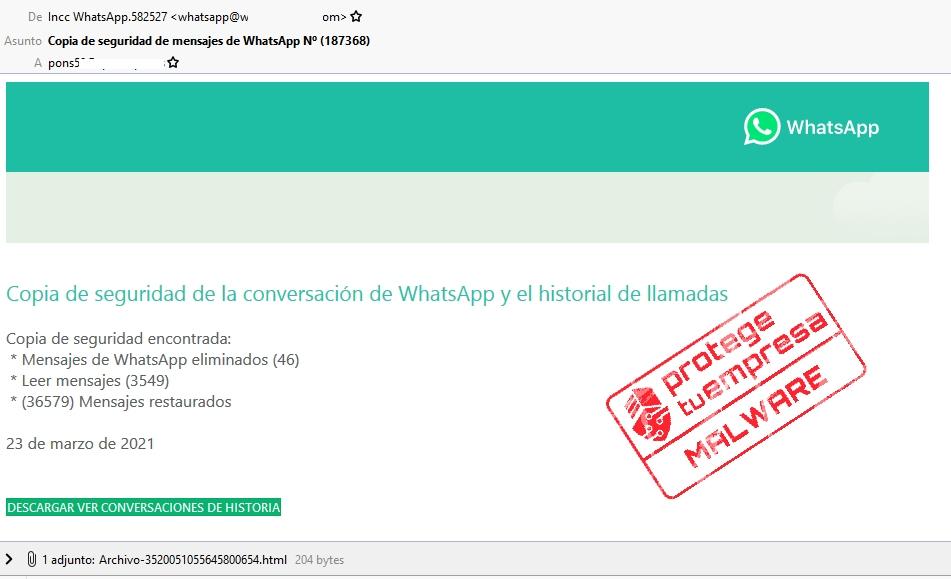 correo whatsaap