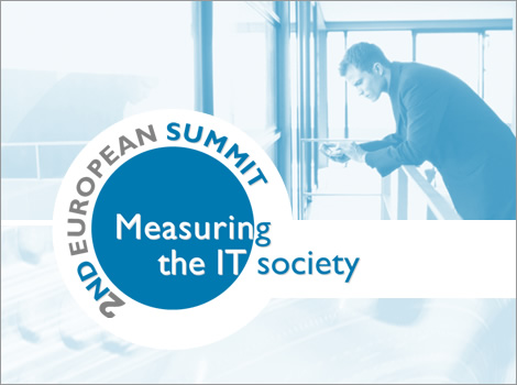 2nd Europeean Summit. Measuring the IT society