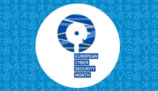 Banner mes europeo ciberseguridad