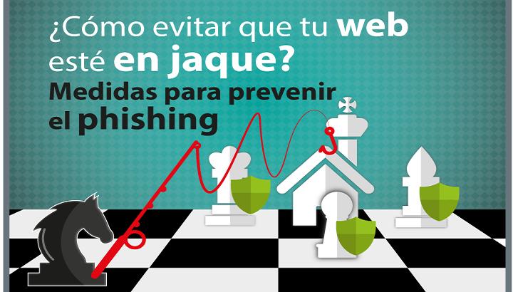 ¿Cómo evitar que tu web esté en jaque? Medidas para prevenir el phishing
