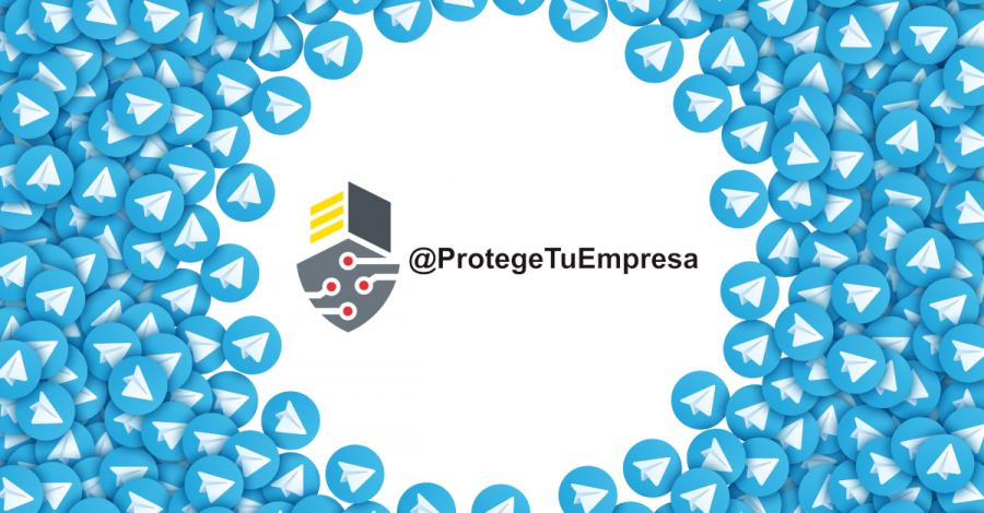 Protege Tu Empresa está en Telegram