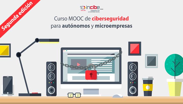 Segunda edición del curso online gratuito sobre ciberseguridad para micropymes y autónomos