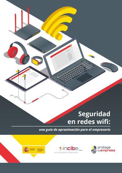 Imagen que muestra la portada de la guía de seguridad en redes wifi.