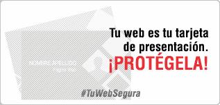 Tu web es tu tarjeta de presentación. ¡Protégela!