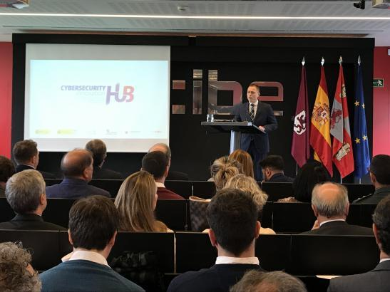 Alberto Hernández Director General de INCIBE en la presentación del Cybersecurity Innovation Hub
