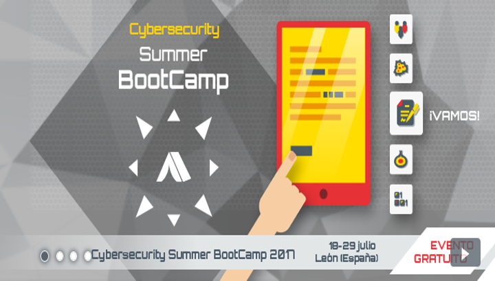 Cybersecurity Summer BootCamp 2017_INCIBE